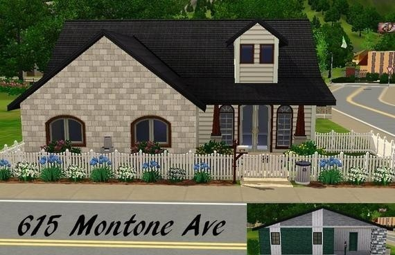 Sims3 - 615 Montone Ave