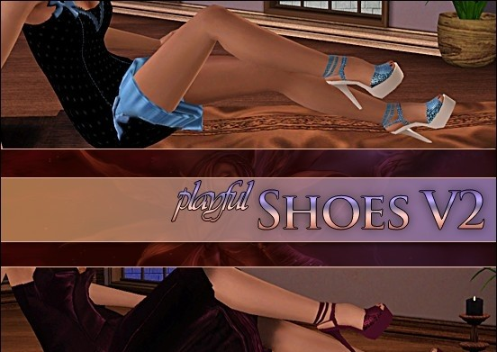 sims3 -Playful Shoes