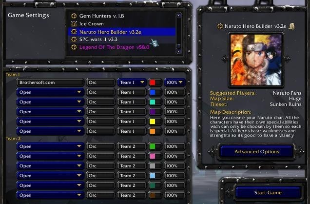 Get manual how to update warcraft 3 world editor for warcraft maps naruto hero builder naruto hero builder 32e gumiabroncs Choice Image