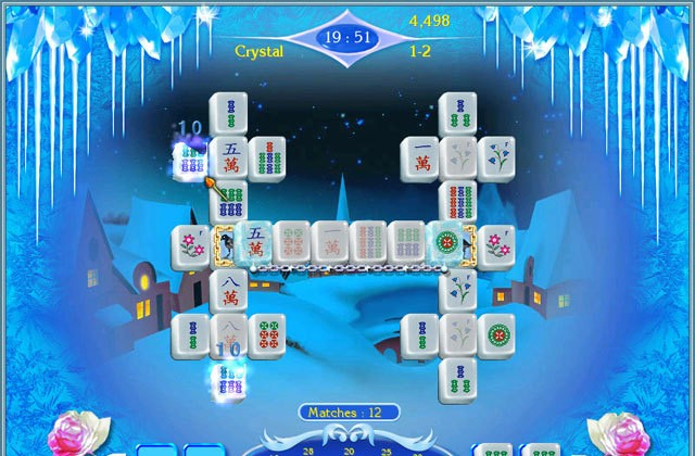 Snow Queen Mahjongg