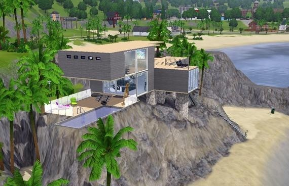 Also see - like Sims3 - The Rock House