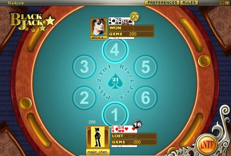 ibibo Game - Blackjack