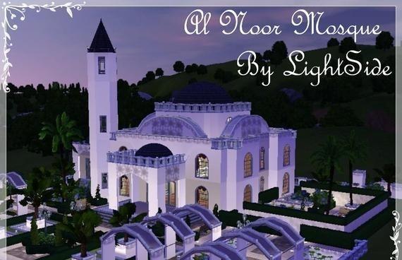 Sims3 - Al Noor Mosque fuskem kid pics