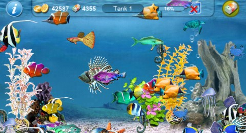 Tap fish 2 for iphone lisisoft for Feed and grow fish free download full game