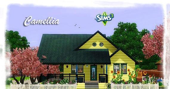 Sims3 Camellia House Games Camellia House Sims3 Camellia