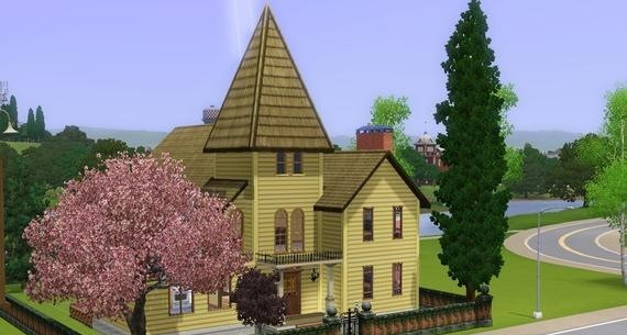 Sims3 - Victorian home