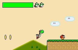 Mario Game: YoshiLand