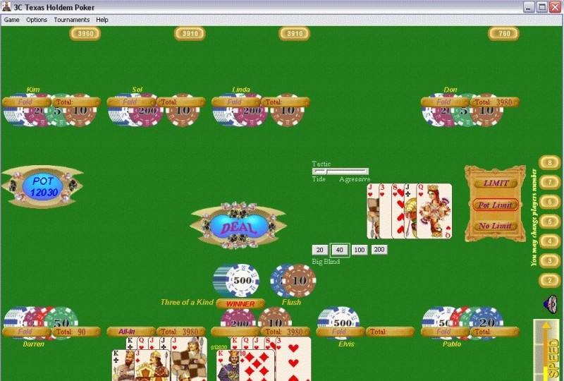 free poker games texas holdem practice play