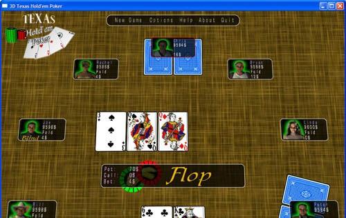 3D Texas Holdem Poker