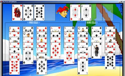 My Freecell Solitare