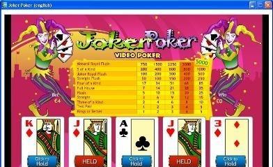 Joker Poker Portable