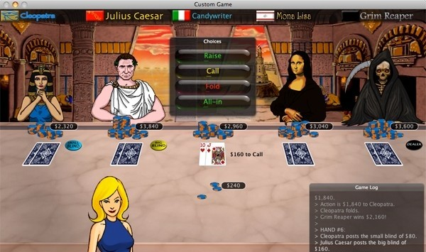 Online Flash Casinos, Casino Table Games List