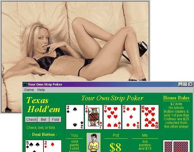 Your Own Strip Poker