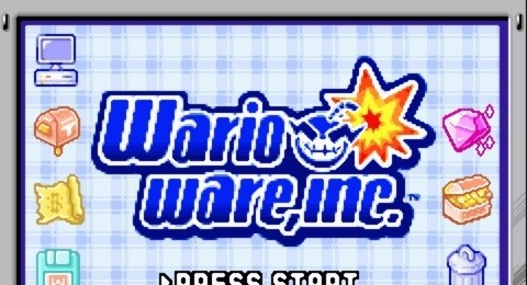 WarioWare, Inc for GBA