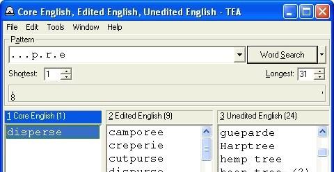 TEA - Crossword Solver