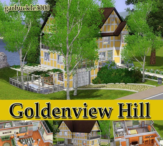 Sims3 - Goldenview Hill