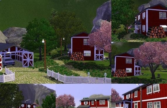 Sims3 - Swedish Cottage