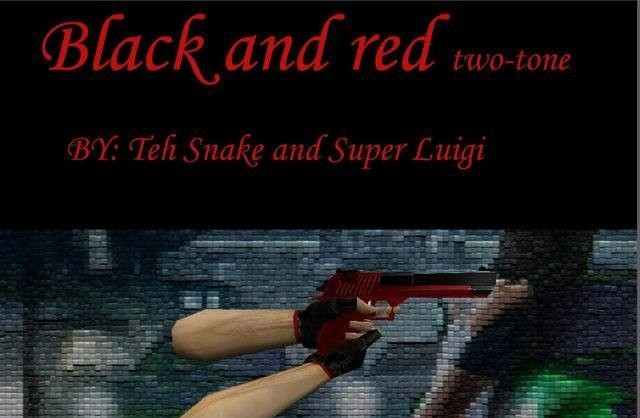 CS Addons: Black And Red two-tone