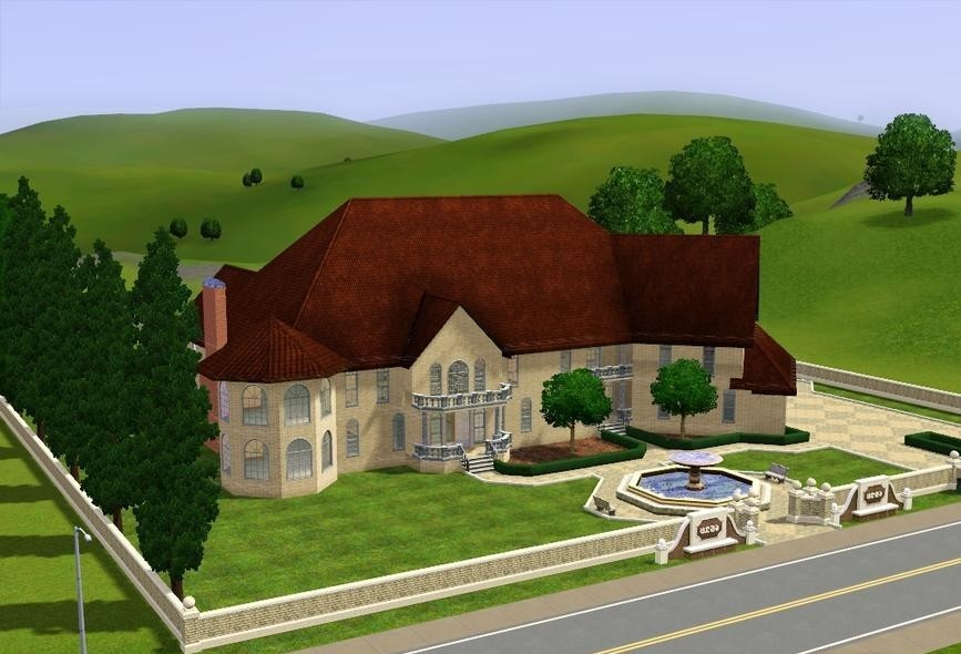 Sims3 - Oakwood Mansion