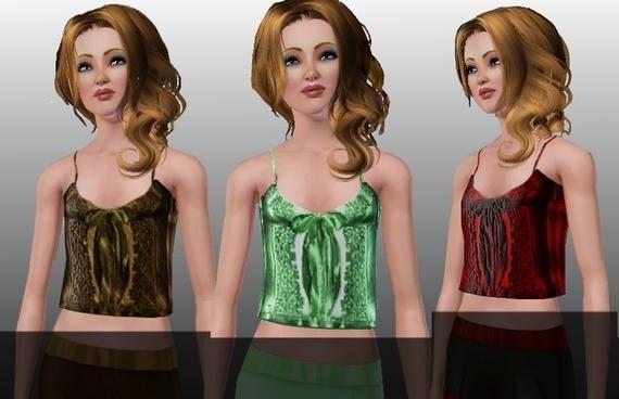 Sims3 - Cute Nightie Top