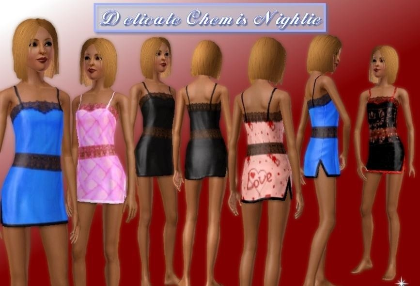 Sims3 - Nightie Intimate