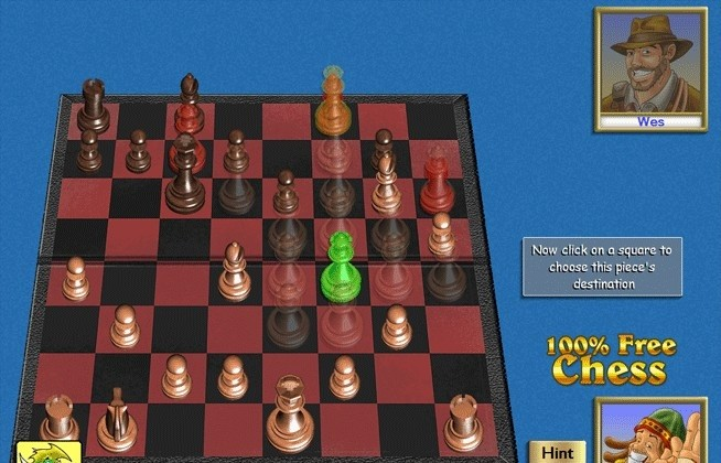 100% Free Chess Board Game