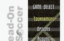 Head-On Soccer for SNES