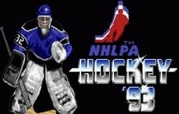 NHLPA Hockey '93 for SNES