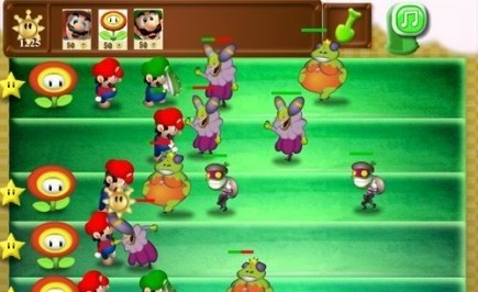 Mario Bros vs Monsters