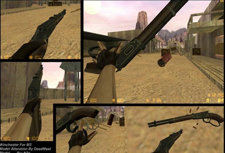 CS Addons: Winchester For M3 Model Version: Winchester For M3 Model 1.0