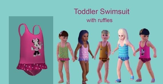 Sims3 - toddler swimsuit