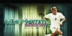 Mia Hamm Soccer 64 for N64