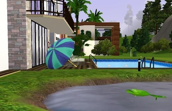 Sims3 - Oasis Modern Home