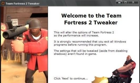 Team Fortress 2 Tweaker