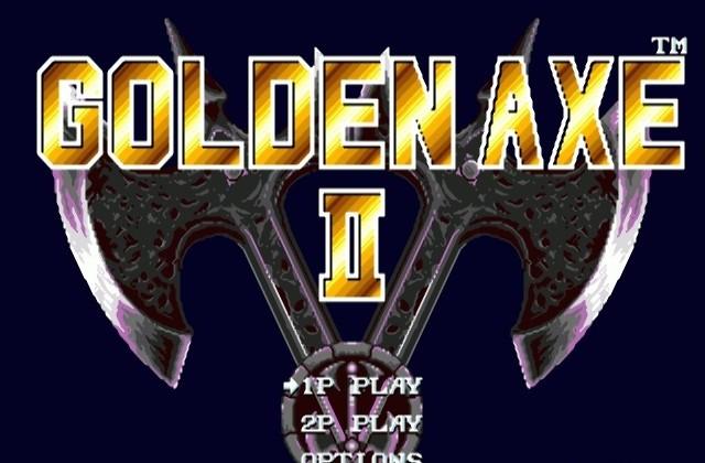 Golden Axe 2 for Genesis