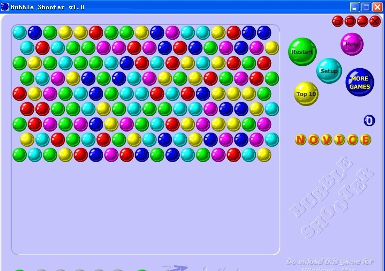 snood bubble shooter