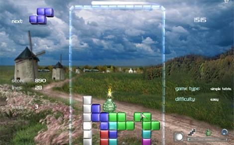 Three Windmills :: Tetris