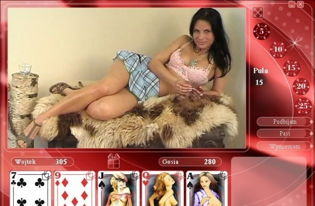 Free strip poker for females