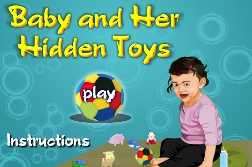 Baby and her Hidden Toys