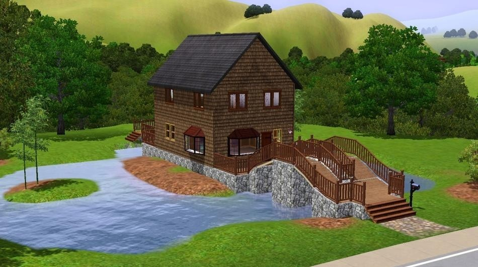 Sims3 - The Old Toll House fuskem kid pics