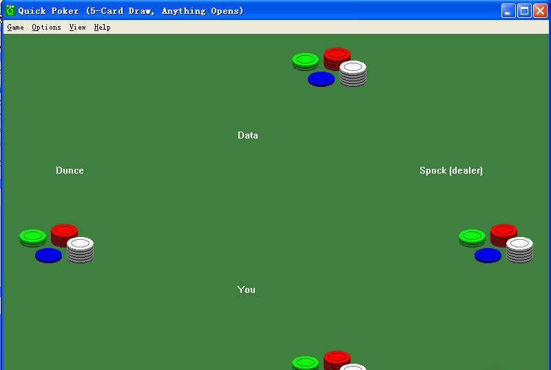 Pure play poker software