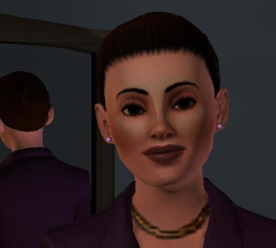 Sims3 - Ladies blush brown