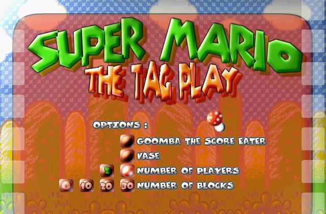 Super Mario: The Tag Play