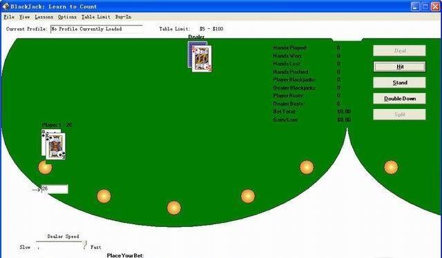 Live gambling stream