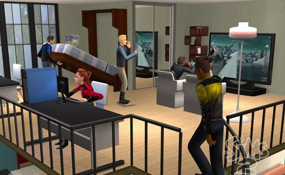 The Sims 2 Apartment Life