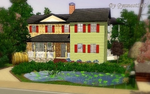 Sims3 - Country Farm House