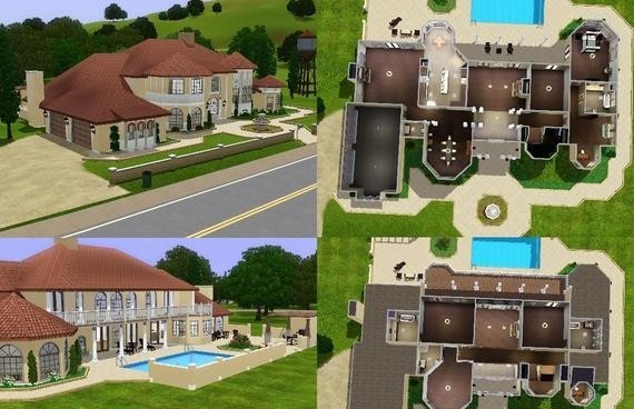 Sims3 Italianate Mansion Lisisoft