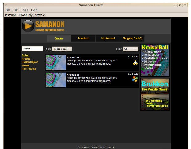 Samanon Client for Linux