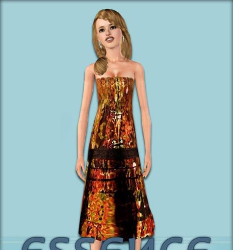 Sims3 - EnjoyTheDay Dress #2