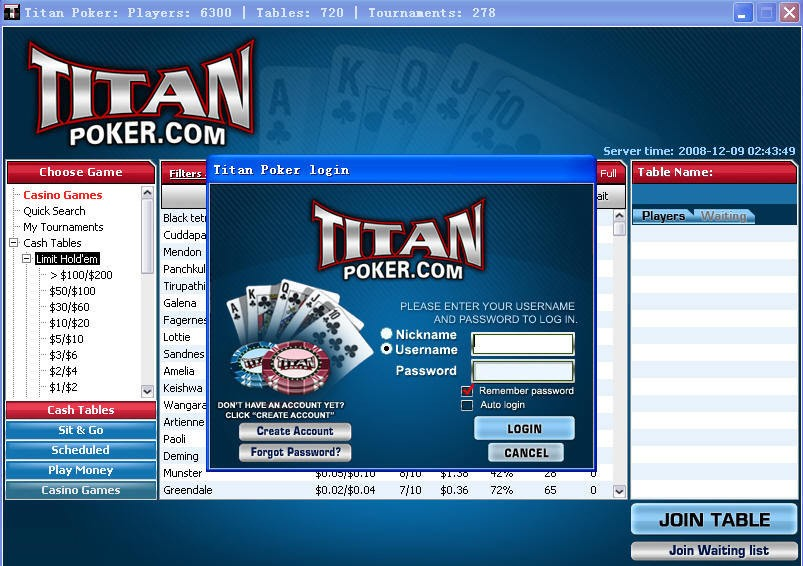 Titan poker mentor calculator